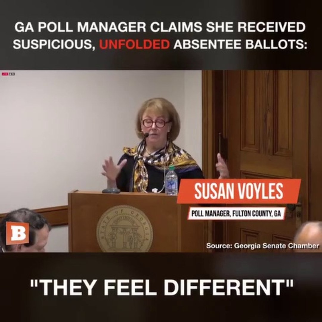 Election Fraud Exposed – Poll Manager Received Suspicious, Unfolded Ballots
