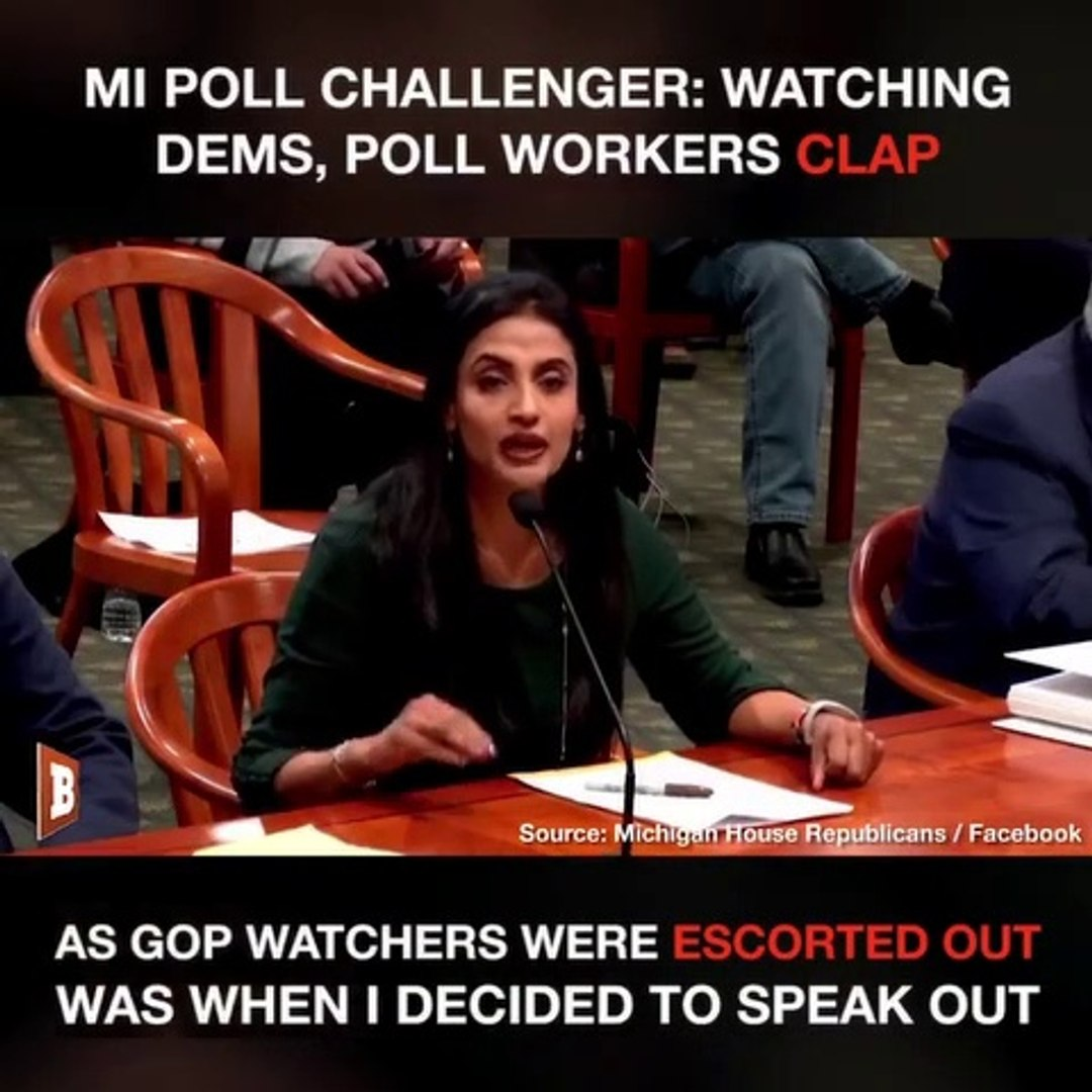 Michigan Poll Worker Witnessed Dems Clap and Cheer As GOP Poll Watchers Were Illegally Kicked Out