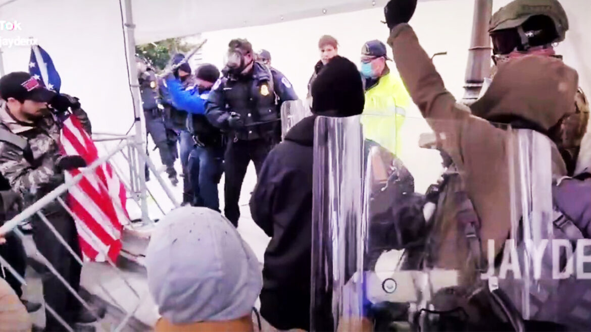Leaked: Police Outnumbered by a Mob of Protesters