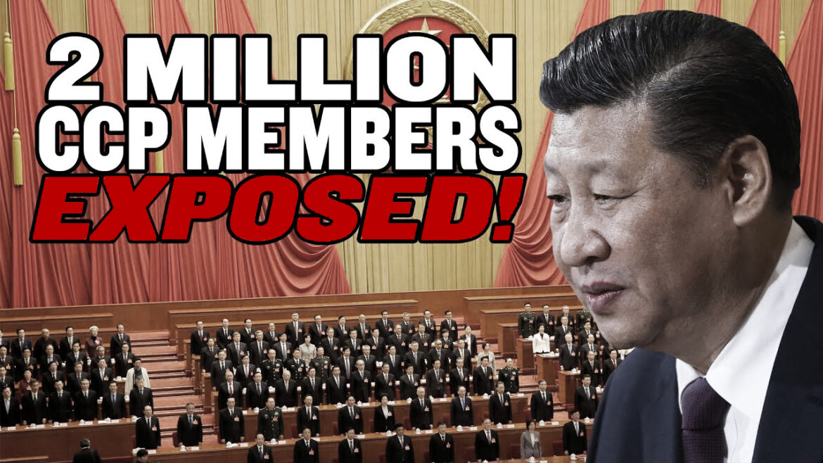 Over 2 Million Chinese Communist Party Members Have Been Hacked and Leaked