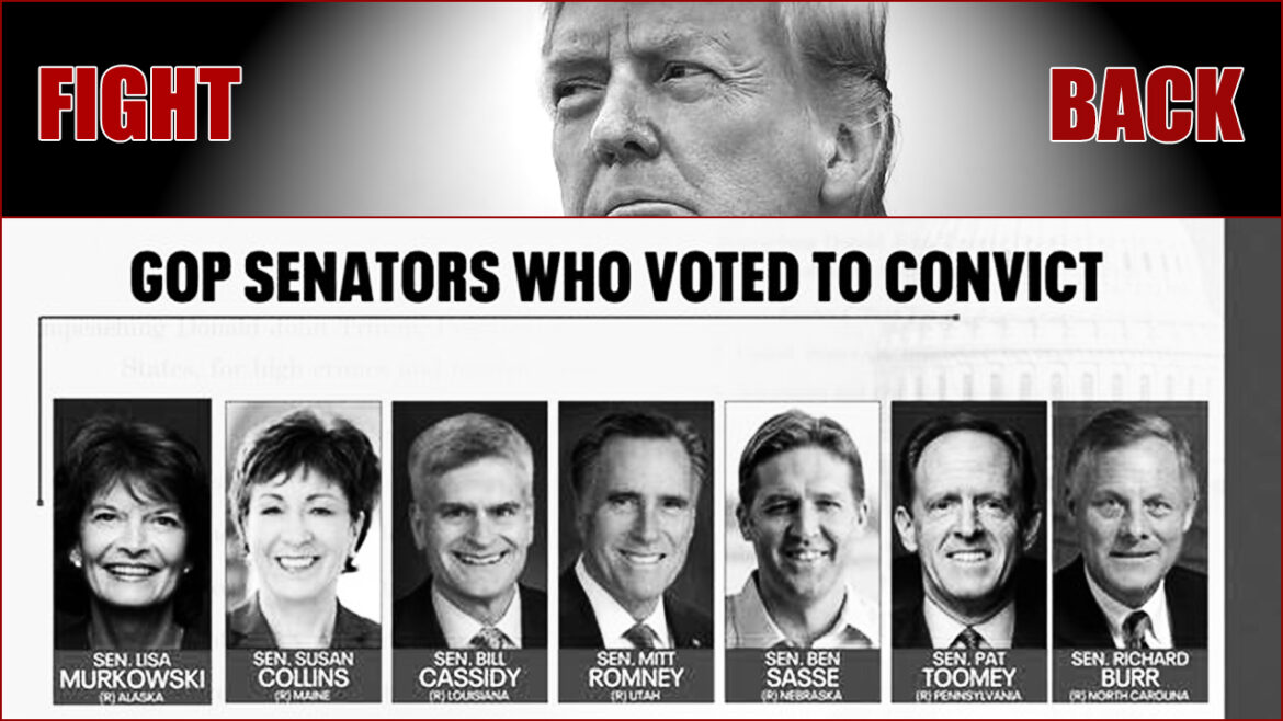 Never Forget: The GOP Traitors Who Voted to Convict Trump