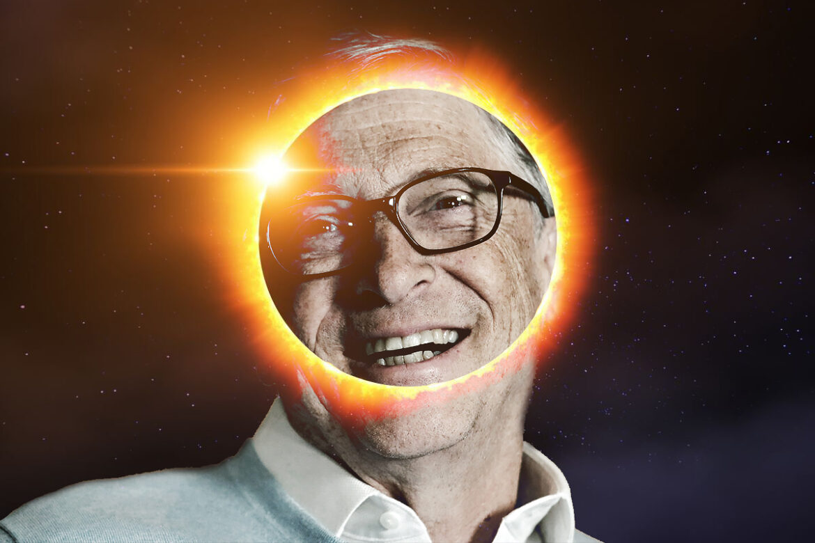 Bill Gates Still Plans to Literally Block Out the Sun