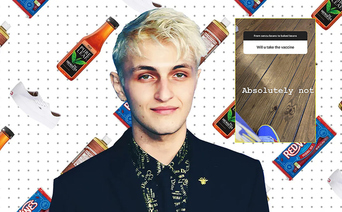 """Anwar Hadid Refuses COVID Vaccine """"Our Bodies Are Made by the Creator"""""""