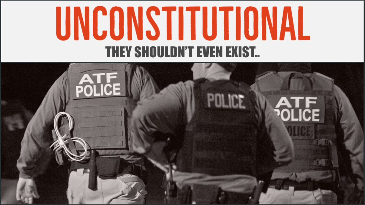 It's Time to Eliminate the Firearms Act and the ATF