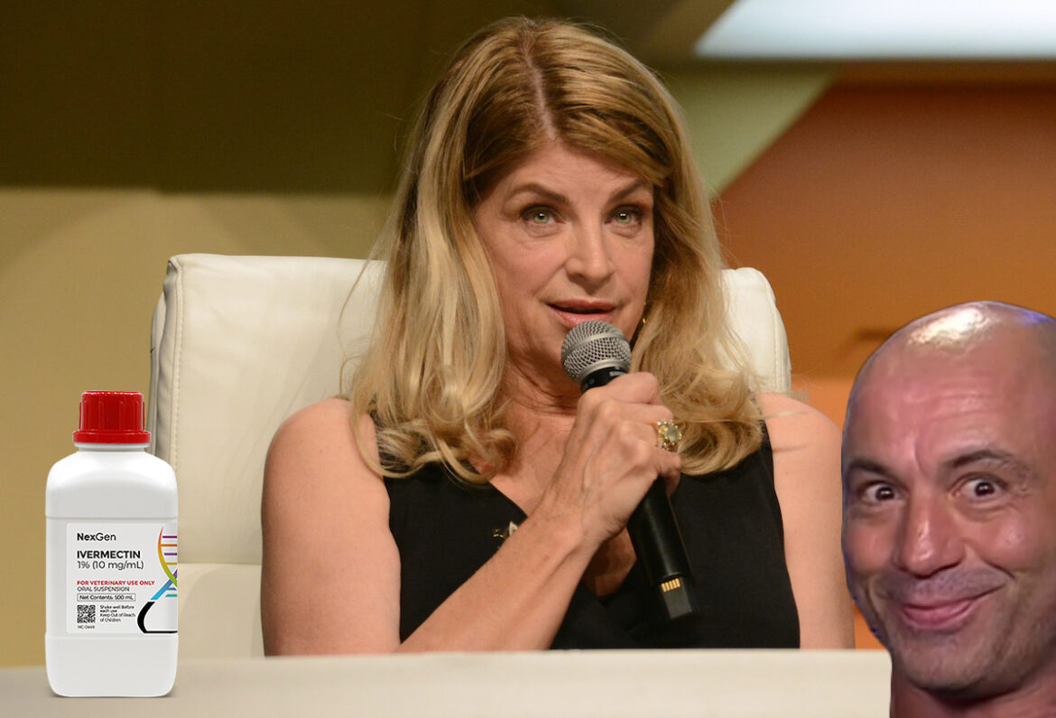 Kirstie Alley Rejected COVID Shots and Used Ivermectin Instead; It Worked