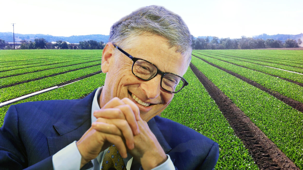 Medicine-Filled Plants to Replace Injections and Bill Gates Buying Out Farm Land