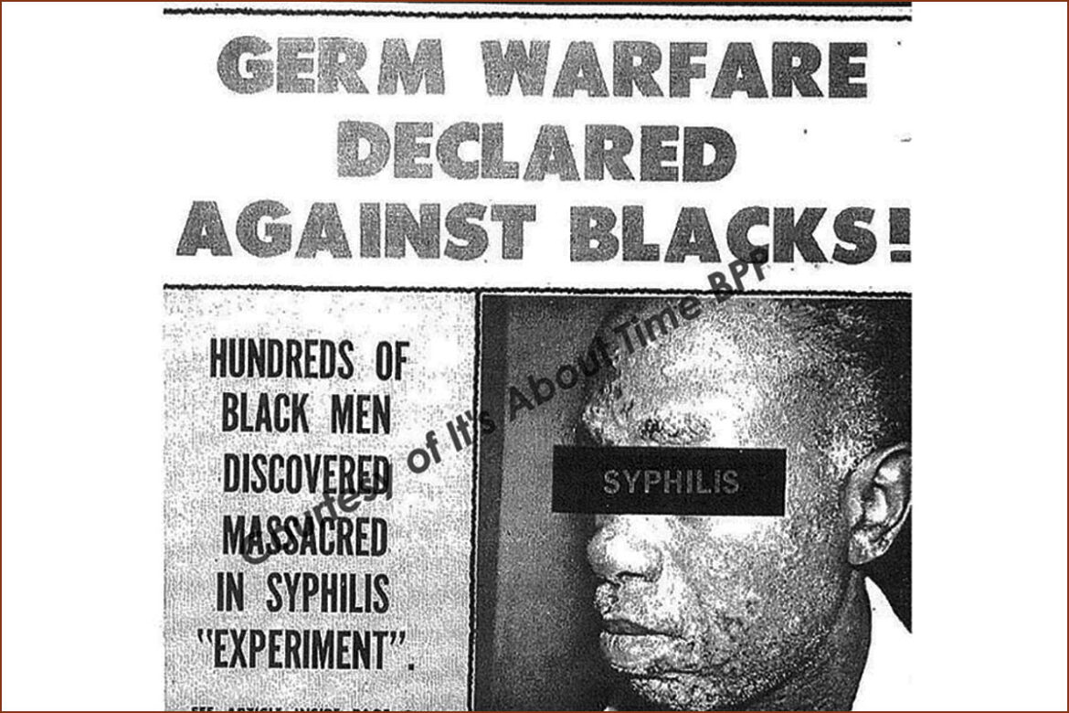 The Tuskegee Experiment: How Blacks Were Tricked and Killed by the U.S. Government